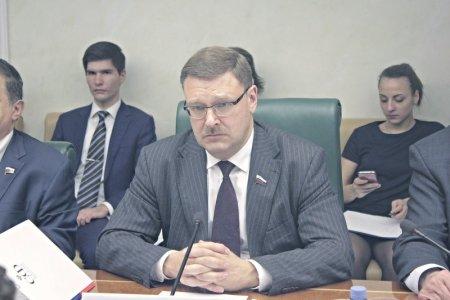 Константин Косачев: Судьба памятников советским воинам на Украине и в Прибалтике вызывает опасения