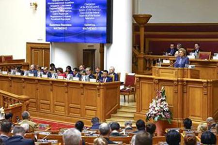 В. Матвиенко выступила за формирование эффективной международной правовой базы для противодействия терроризму и экстремизму