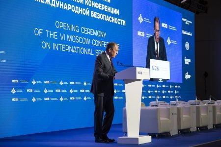 Выступление Министра иностранных дел России С.В.Лаврова в ходе VI Московской конференции по международной безопасности, Москва, 26 апреля 2017 года