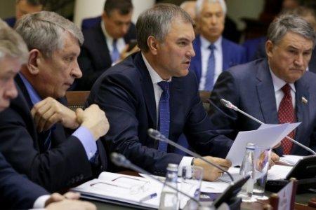 Вячеслав Володин: на повестке дня -  поиск форм взаимодействия парламентских ассамблей ОДКБ и Совета Европы