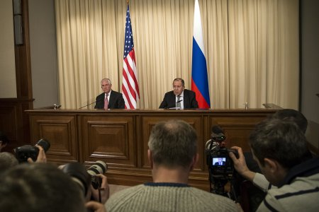 Foreign Minister Sergey Lavrov's remarks and answers to media questions at a joint news conference following talks with US Secretary of State Rex Tillerson, Moscow, April 12, 2017
