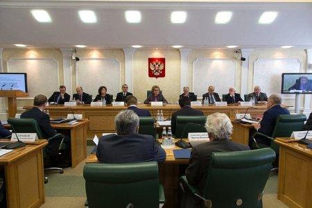 Участники Научно-экспертного совета при Председателе СФ обсудили роль Совета Федерации в решении задач внутренней и внешней политики государства