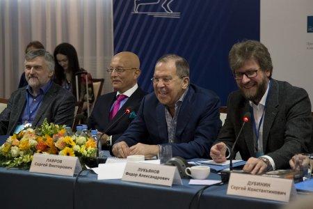 Выступление Министра иностранных дел России С.В.Лаврова в ходе юбилейной XXV Ассамблеи Совета по внешней и оборонной политике, Москва, 8 апреля 2017 года