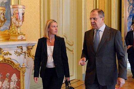 Ф. Могерини высказалась за открытый диалог ЕС и России как глобального игрока