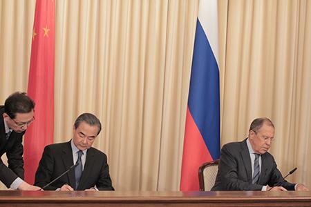 Расцвет российско-китайских отношений