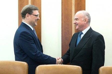 В Совете Федерации держат курс на укрепление межпарламетских связей России и Хорватии