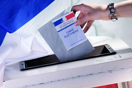 France after the second round of the presidential elections