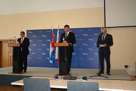 Исторический визит главы МИД Кубы в Словакию