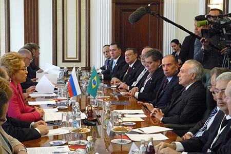 Валентина Матвиенко: «Мы уверены -  визит Президента Бразилии в Россию придаст новый импульс развитию и межпарламентских связей»