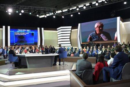 «Прямая линия» Владимира Путина: международный аспект