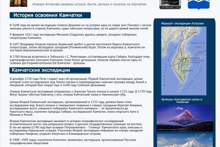 Полуостров Камчатка. История освоения