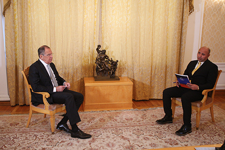 Интервью Министра иностранных дел России С.В.Лаврова курдскому телеканалу «Рудав», Москва, 24 июля 2017 года