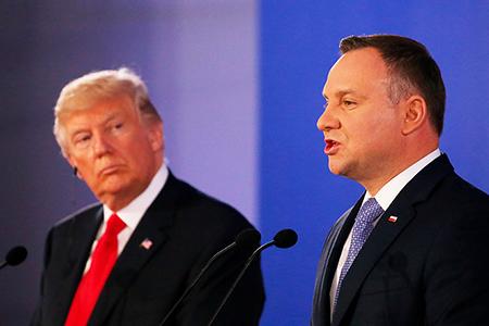 Американский газ для Польши: очередной бизнес-проект Трампа