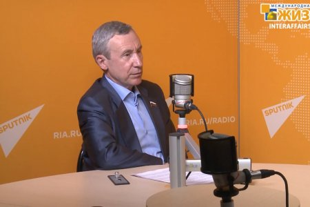 Андрей Климов, сенатор, председатель Комиссии Совета Федерации по защите государственного суверенитета и предотвращению вмешательства во внутренние дела РФ