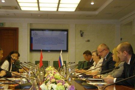 Китайские гости в Совете Федерации