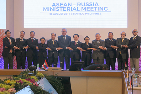 Foreign Minister Sergey Lavrov's opening remarks at the Russia-ASEAN Ministerial Meeting, Manila, August 6, 2017