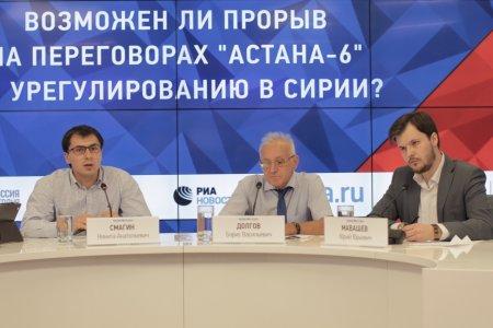 Астана – 6: интересы региональных сил