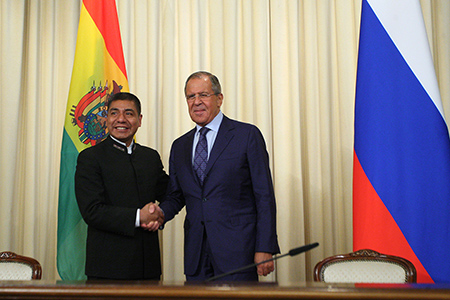 Foreign Minister Sergey Lavrov's remarks and answers to media questions at a joint press conference following talks with Foreign Minister of Bolivia Fernando Huanacuni Mamani, Moscow, August 16, 2017