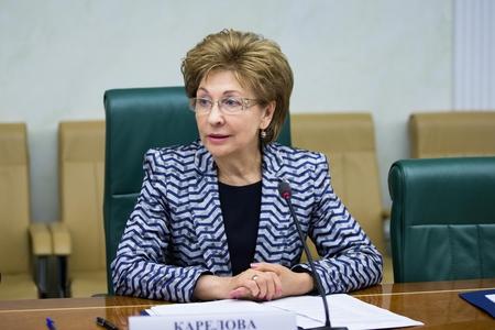 Создание законодательства для регулирования информационных отношений становится для СФ одной из приоритетных задач - Г. Карелова