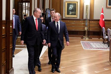 Россия-Турция: взаимодействие в региональном контексте (к визиту В. Путина в Турцию)