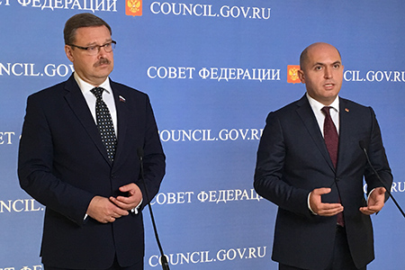 Развитие межпарламентского взаимодействия РФ и Армении