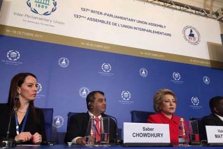 137th assembly of IPU: Russia's success, parliamentary diplomaсy triumph