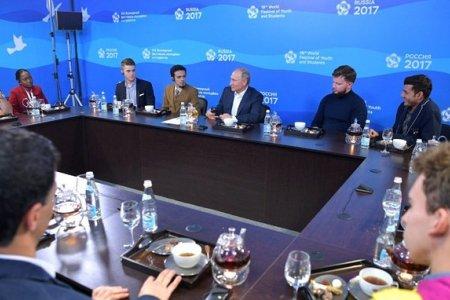 Встреча с участниками XIX Всемирного фестиваля молодёжи и студентов