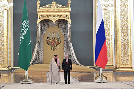 Король Саудовской Аравии в Москве: и политика, и культура