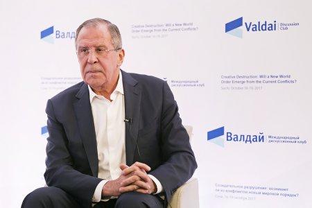 Интервью Министра иностранных дел России С.В.Лаврова для Интернет-сайта Международного дискуссионного клуба «Валдай» в рамках XIV ежегодного заседания, Сочи, 17 октября 2017 года