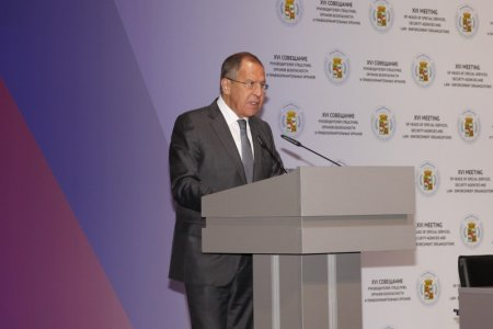 Foreign Minister Sergey Lavrov's statement at the 16th Meeting of Heads of Special Services, Security Agencies and Law Enforcement Agencies that are Foreign Partners of Russia's Federal Security Service, Krasnodar, October 4, 2017