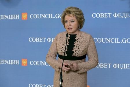 Комментарий Председателя Совета Федерации В.И. Матвиенко в связи с принятием в России закона о СМИ-иноагентах