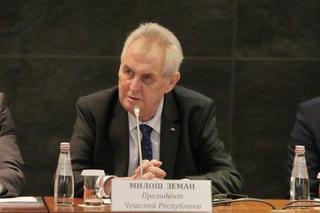 Президент Чехии Милош Земан: Выступаю против санкционного противостояния между Россией и ЕС