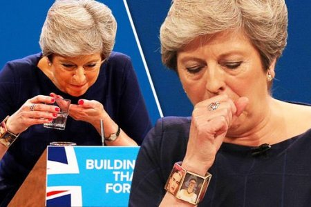 Отставка министра обороны Британии и браслет Терезы Мэй