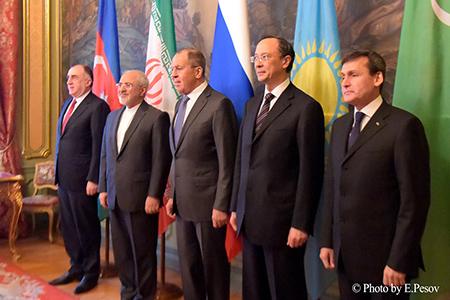 Главы МИД прикаспийских государств согласовали Конвенцию Каспию