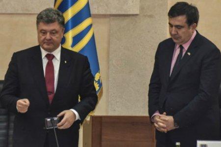 Порошенко и Саакашвили: связанные одной цепью…