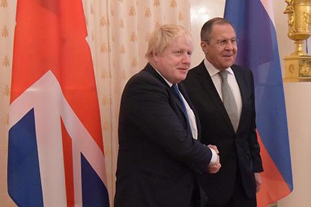 Сергей Лавров и Борис Джонсон на переговорах в МИД России «не обходили острых вопросов»