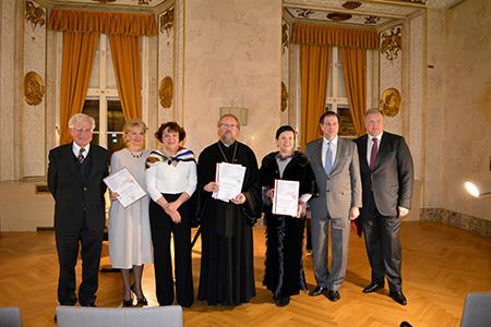 Вена празднует 300-летие Марии – Терезии и чествует лауреатов премии «Посол Мира»
