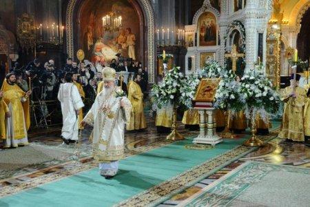 Прямая трансляция Патриаршего богослужения