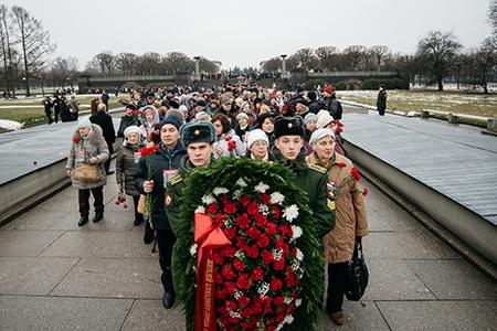 Их лица помнит Ленинград