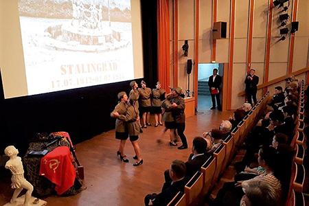 В Берлине соотечественники отметили 75-летие Сталинградской битвы