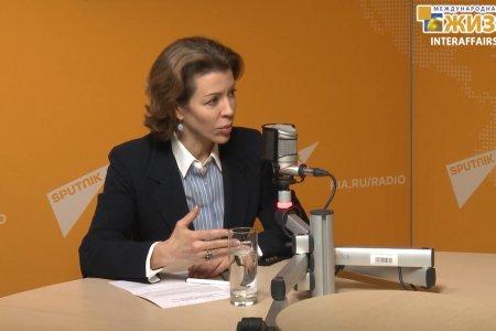 Крашенинникова Вероника Юрьевна – политолог, Член Общественной Палаты РФ (часть 1-я)