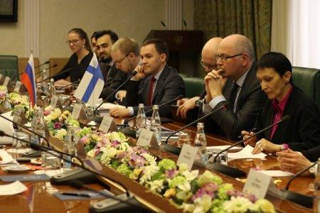 Н. Федоров: «Восстановление активных межпарламентских связей соответствует воле народов России и Финляндии»