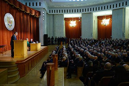 Выступление Министра иностранных дел России С.В.Лаврова на торжественном собрании по случаю Дня дипломатического работника, Москва, 8 февраля 2018 года