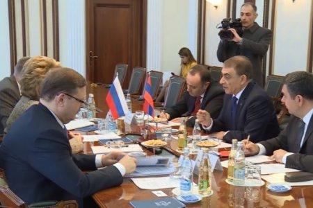 Межпарламентское сотрудничество России и Армении