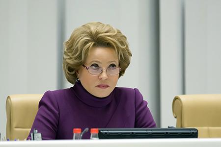 В. Матвиенко: Президентская избирательная кампания в России была организована эффективно