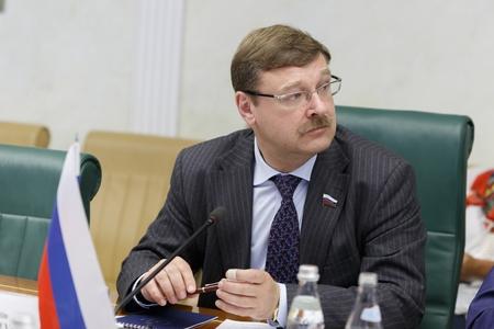 К. Косачев принимает участие в работе Исполнительного комитета МПС