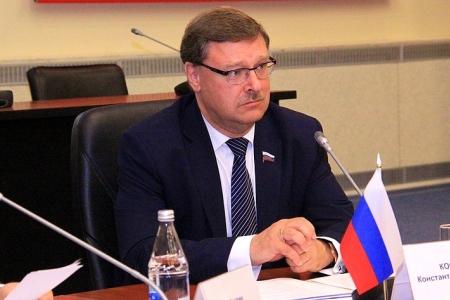К. Косачев провел встречу с Послом Черногории в России Р. Башичем
