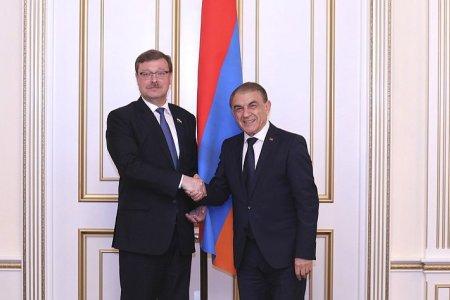 Российские и армянские парламентарии обсудили состояние и перспективы двустороннего межпарламентского диалога