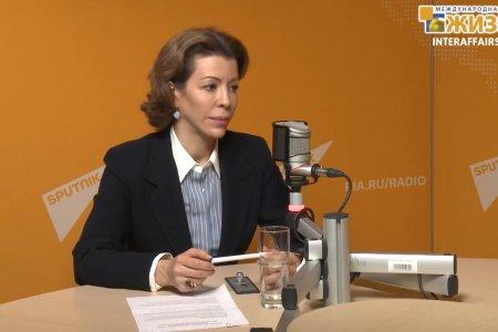 Крашенинникова Вероника Юрьевна – политолог, Член Общественной Палаты РФ (часть 2-я)