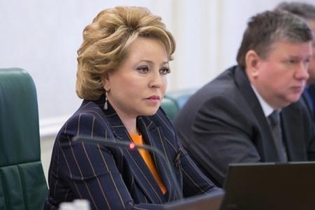 В. Матвиенко и В. Андрейченко обсудили вопросы российско-белорусского парламентского взаимодействия